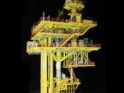 Malaysia-made offshore oil & gas platform installed by Petronas in Terengganu