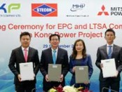 Mitsubishi Power to build a 1,400 MW gas-fired GTCC power plant in Thailand