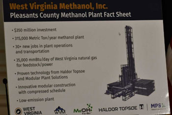 US$350 mn methanol plant in West Virginia