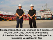 Singapore's used cooking oil fuelling ocean vessel
